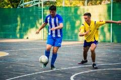 Men play soccer, sport, game 2017 Stock Image