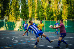 Men play soccer, sport, game 2017 Stock Photography