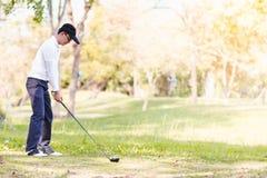 Men playing golf royalty free stock photos