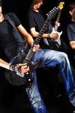 Men playing  guitar. Royalty Free Stock Photo