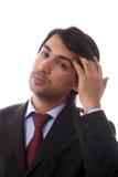 Men portrait. Young business men portrait on white Stock Photo