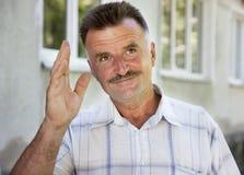 Men portrait Stock Images