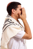 Men praying Royalty Free Stock Image