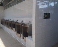 Men public toilet, out door Urinals Men public toilet.  Royalty Free Stock Photography