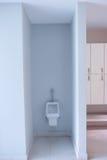 Men public toilet room empty Royalty Free Stock Image