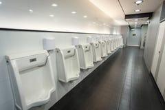 Men Public toilets Royalty Free Stock Images
