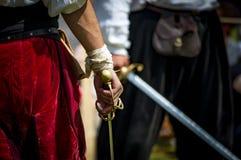 Men ready to fight Royalty Free Stock Photos