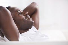 Men resting. Royalty Free Stock Image