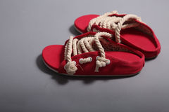 Men rope shoes Stock Photos