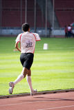 Men's 1500 Meters for Disabled Persons Stock Photo