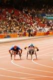 Men's 1500m T54 Stock Photos