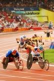 Men's 1500m T54 stock images