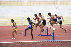 Men's 3000 Meters Steeplechase Royalty Free Stock Image