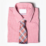Men' одежда s на белой предпосылке Стоковые Фото