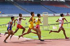Men's 800 Meters for Disabled Persons Stock Photos