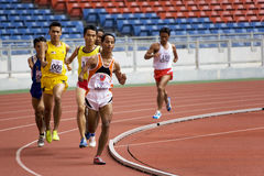 Men's 800 Meters for Disabled Persons Royalty Free Stock Photos