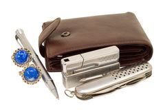 Men's accessories 7 Royalty Free Stock Photo