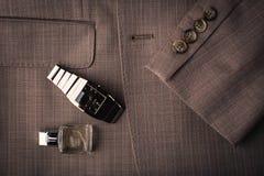 Men's accessories Stock Images