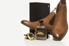 Men's accessories. Business look. Stock Image