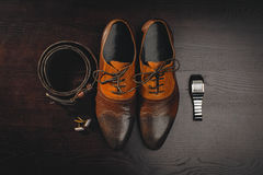 Men`s accessories Stock Photo