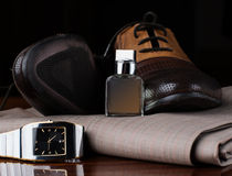 Men's accessories Royalty Free Stock Photography