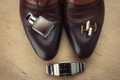 Men's Accessories Royalty Free Stock Image