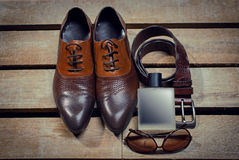 Men's accessories Stock Photos