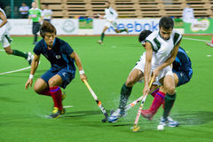 Men's Asia Cup Hockey 2009 Final Royalty Free Stock Photo
