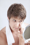Men's beauty Stock Photo