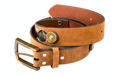 Men's Belt Royalty Free Stock Images