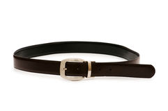 Men's belt isolated Stock Photo