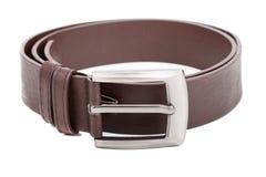 Men's belt. Belt on the white background Royalty Free Stock Image