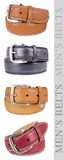 Men's Belts, multicolor Stock Image