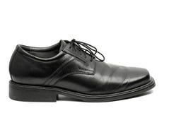 Men's Black Dress Shoe Royalty Free Stock Image
