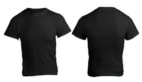 Free Men S Blank Black Shirt Template Stock Photo - 36166570