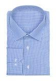 Men's blue shirt Royalty Free Stock Images