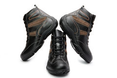 Mens boots Royalty Free Stock Photo