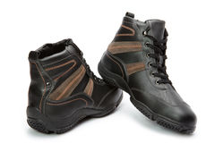 Mens boots Royalty Free Stock Photography