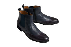 Men`s boots Royalty Free Stock Images