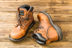 Men's boots Stock Images
