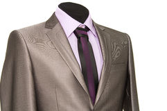 Men's business suit Royalty Free Stock Images