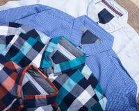 Men's casual clothes Stock Photo