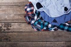 Men's casual clothes Royalty Free Stock Photos
