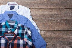 Men's casual clothes Royalty Free Stock Images
