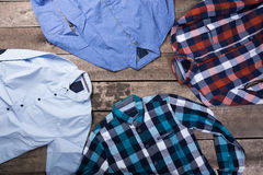Men's casual clothes Royalty Free Stock Photo
