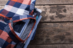 Men's casual clothes Stock Images