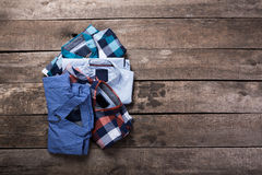Men's casual clothes Stock Photos