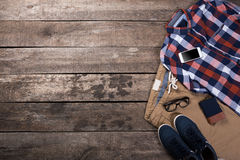 Men's casual clothes Royalty Free Stock Image