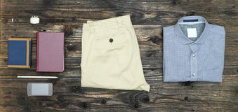 Men's casual outfit Royalty Free Stock Images