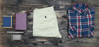 Men's casual outfit Royalty Free Stock Photo